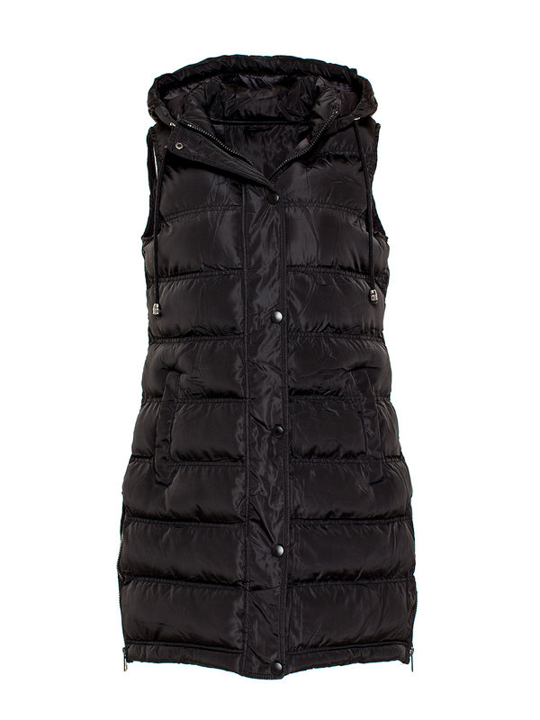 By Sara Collection Sophie Waistcoat Black