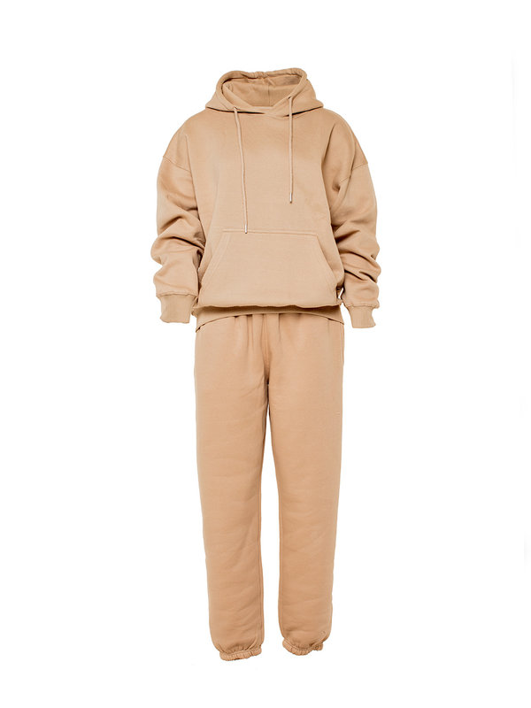 By Sara Collection Winnie Jogging Set Camel