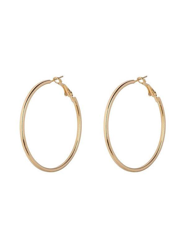 Bobby Rose Square Hoops Earring Gold
