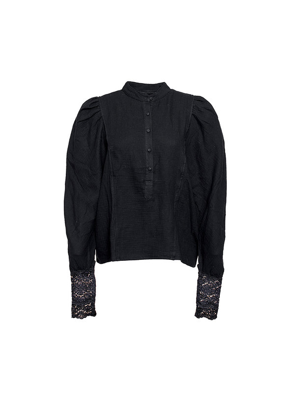 By Sara Collection Valerie Blouse Soft Black