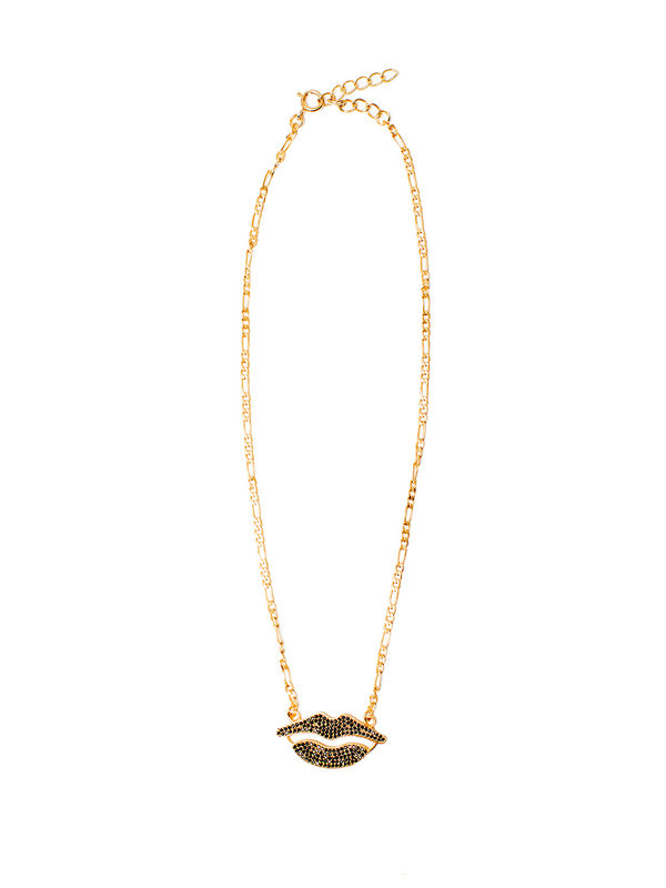 I Am Jai Necklace With Lips
