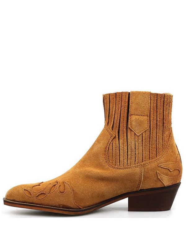 DW\\RS Austin Boots flame suede cognac