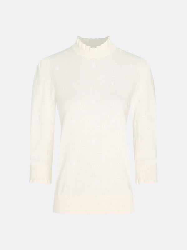 Fabienne Chapot Leo Pullover Cream White