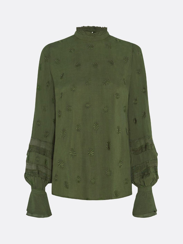 Leo Top Army Green