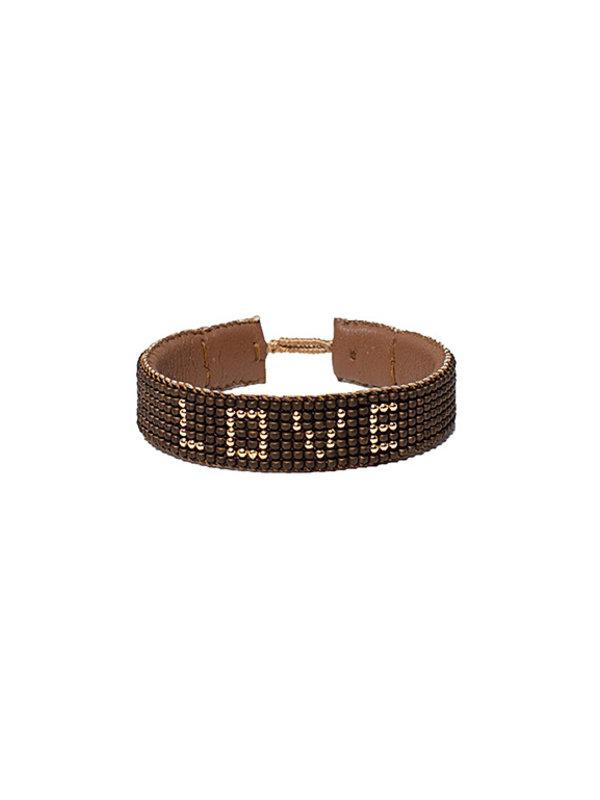 Ibu Jewels Bracelet Love Bronze