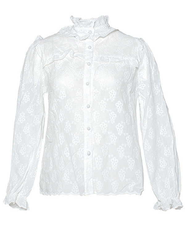 By Sara Collection Kamille Blouse White