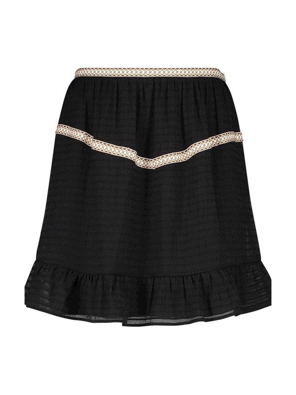 Aaiko Semeline Vis Skirt Black