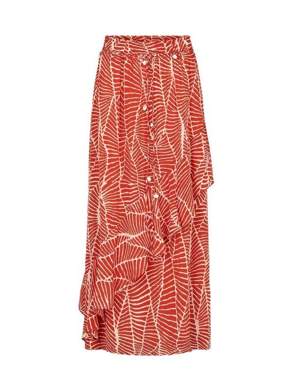 Moliin Nadia Skirt Red