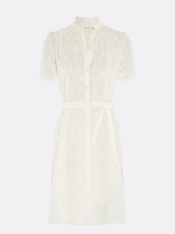 Fabienne Chapot Girlfriend Dress Cream White
