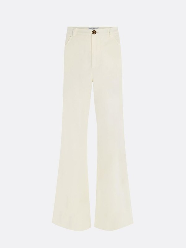 Fabienne Chapot Sofi Trousers Cream White