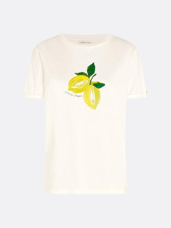 Fabienne Chapot Romy Lime T Shirt Cream White