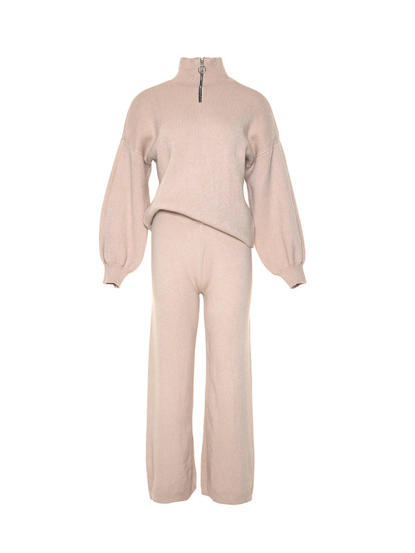 By Sara Collection Marley Comfy Suit Beige OS