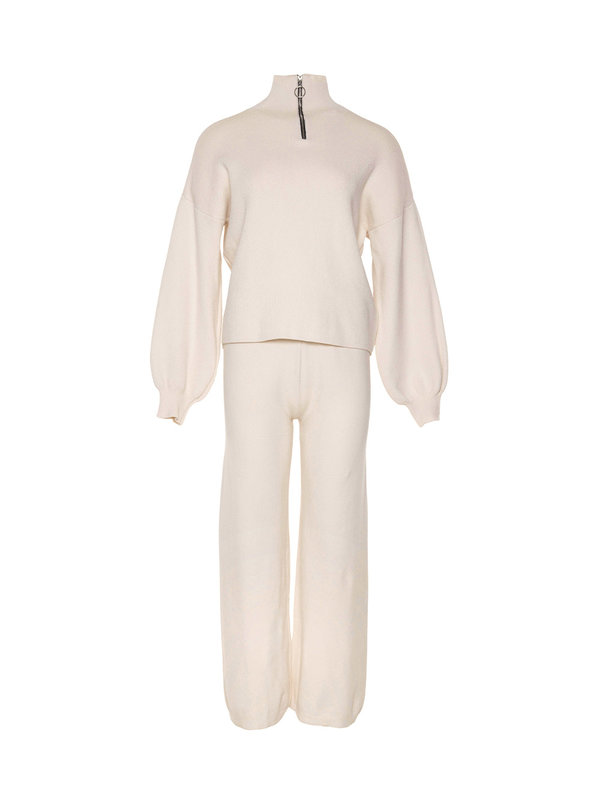 By Sara Collection Marley Comfy Suit Off White OS