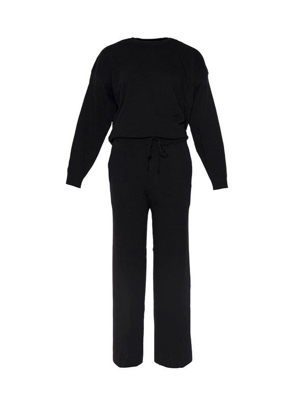 By Sara Collection Comfy Suit Black OS