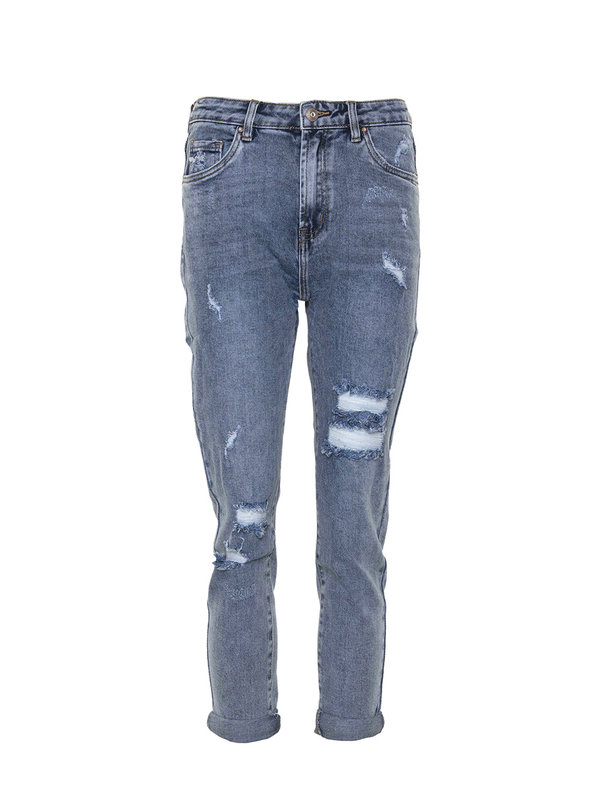 By Sara Collection Tyla Jeans Dark Blue