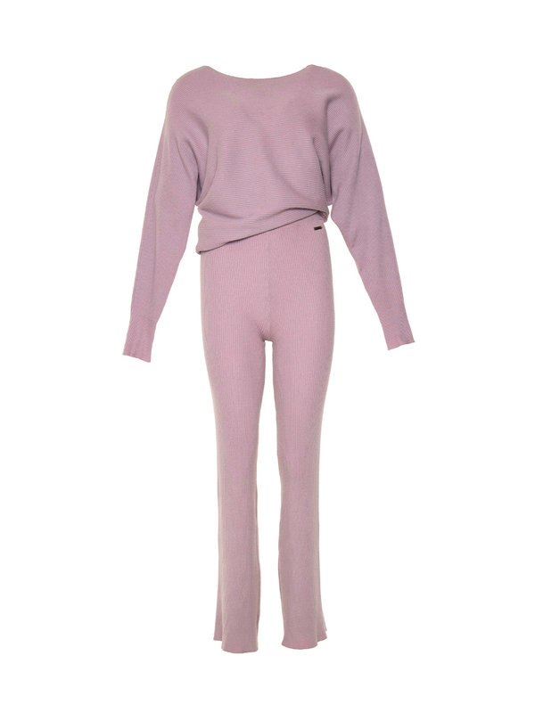 By Sara Collection Comfy Suit Lila Pastel