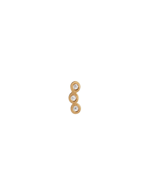 Stine A Three Dots Earring Piece Gold