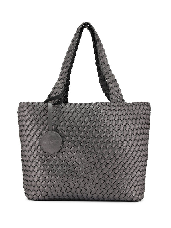 Ilse Jacobsen Tote Bag Black Gun Metal