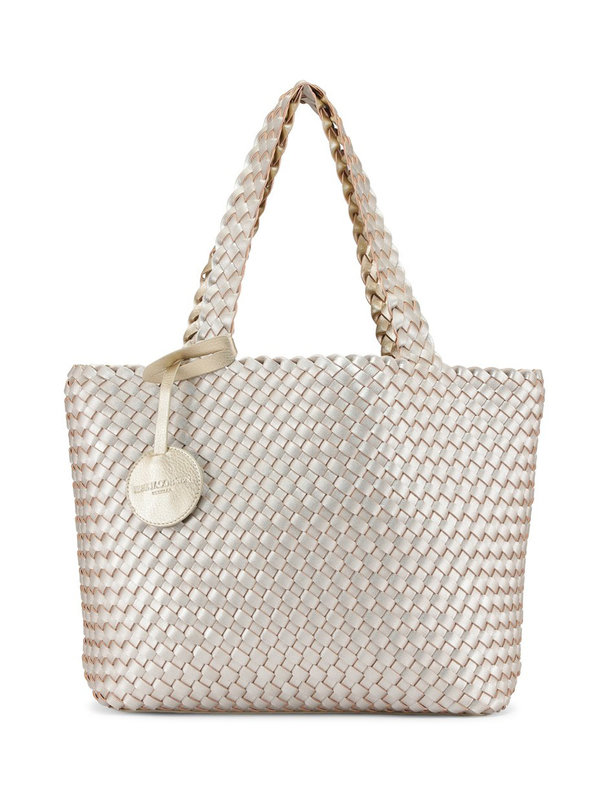 Ilse Jacobsen Tote Bag Platin Silver - Goud