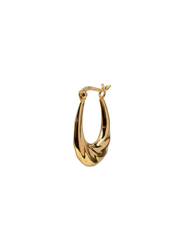 Bobby Rose Oval Twist Gold