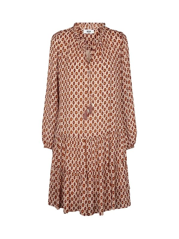 Moliin Rasmine Dress Cinnamon Stick