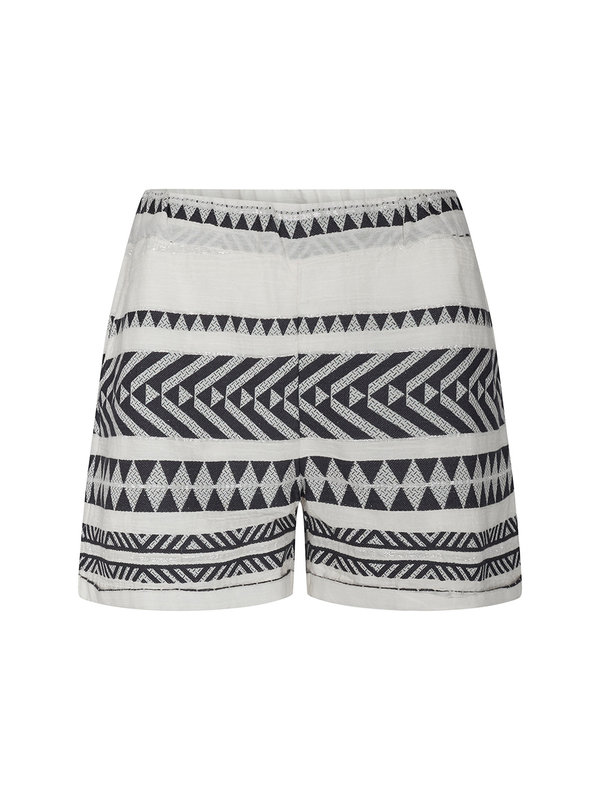 Sofie Schnoor Louie Shorts White Black