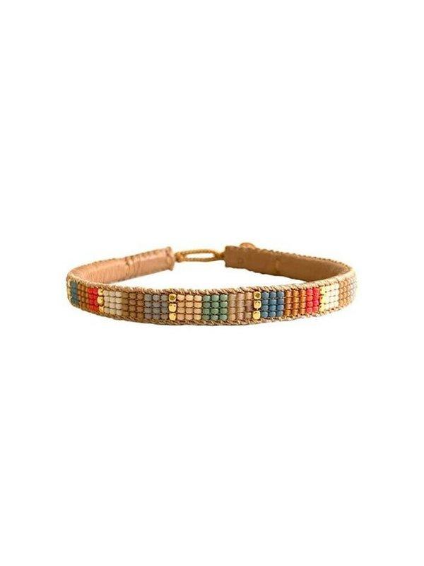 Ibu Jewels Bracelet Multicolor Block