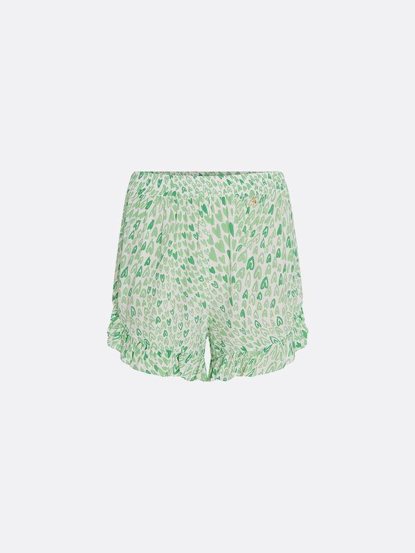 Fabienne Chapot Swoosie Short Cream White/Sea Green Love Stream