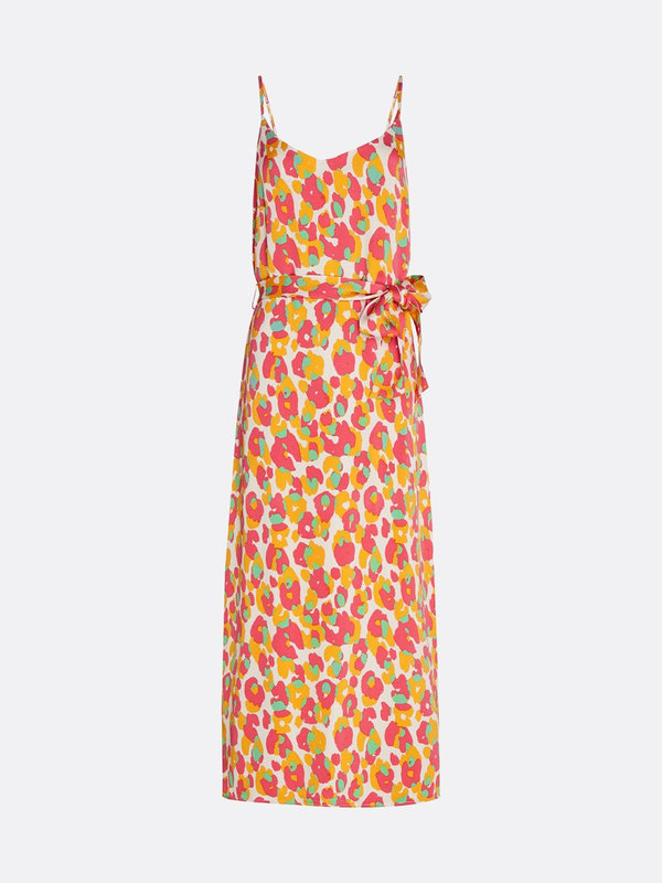 Fabienne Chapot Sunset Cato Dress Cream White/Powder Loopy Leopard
