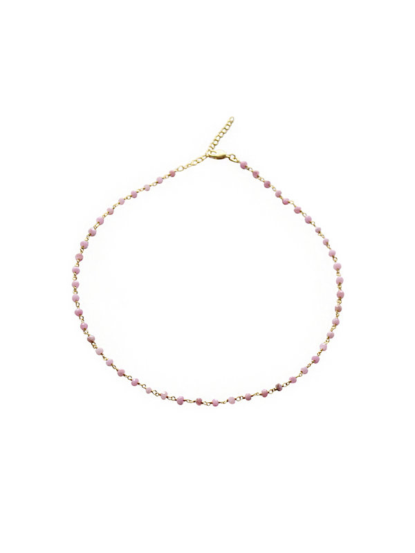 I Am Jai Kettel Necklace Rosequartz