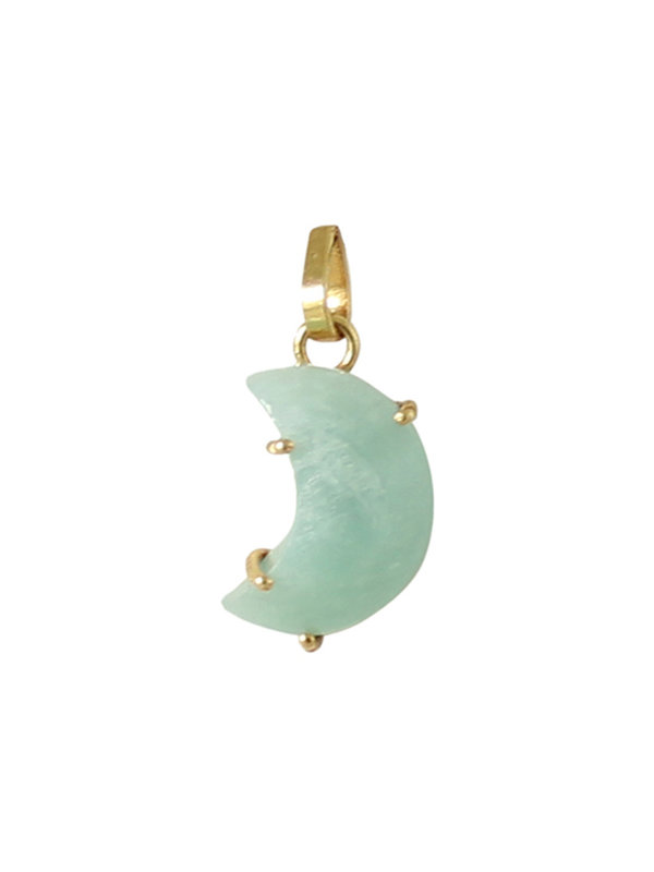 I Am Jai Charm Moon Amazonite