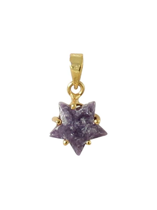 I Am Jai Charm Star Lavender Jasper