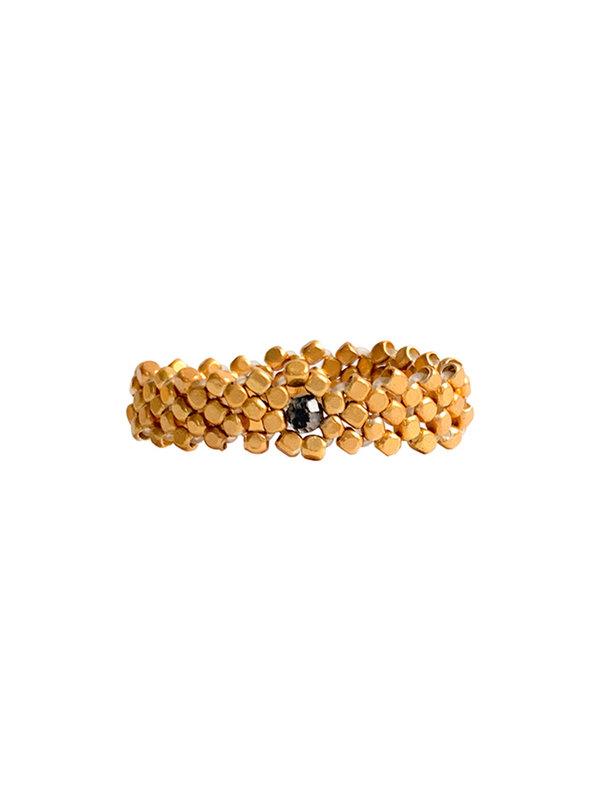 Ibu Jewels Ring Round Stones Rutil