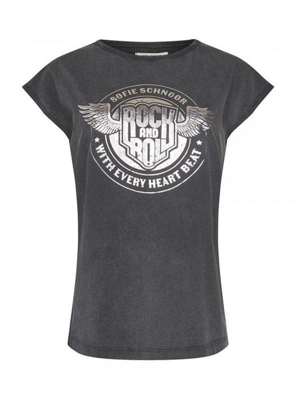Sofie Schnoor T-shirt Nicoline Black