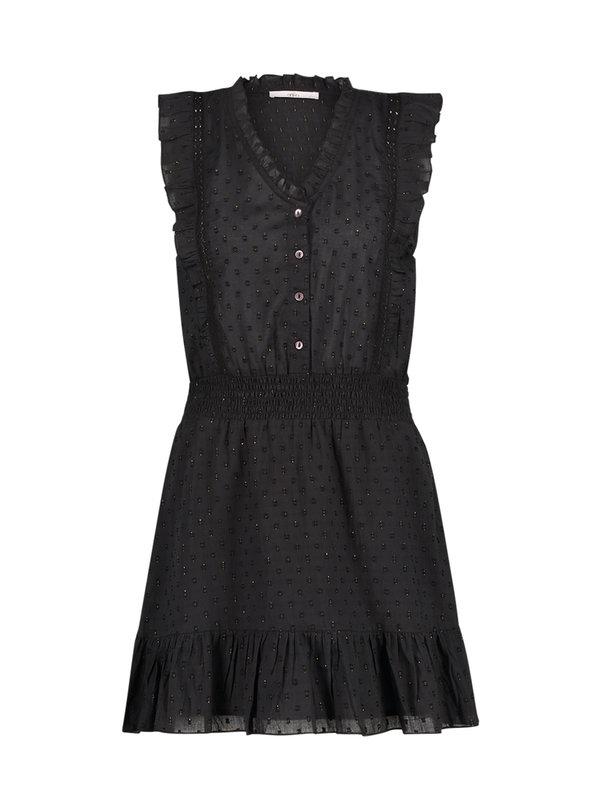 Aaiko Fajenna Plumetis Dress Black