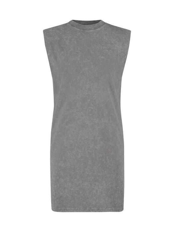 Raizzed Hazita Midi Dress Shade Grey