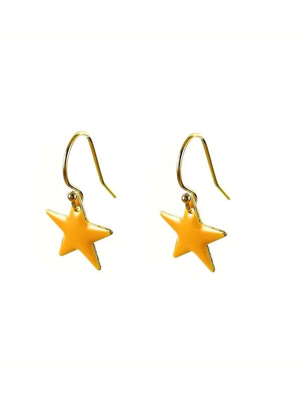 Blinckstar Oorbellen Hook Peach Star