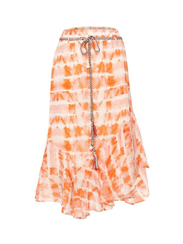 Moliin Palermo Skirt Orange Rust