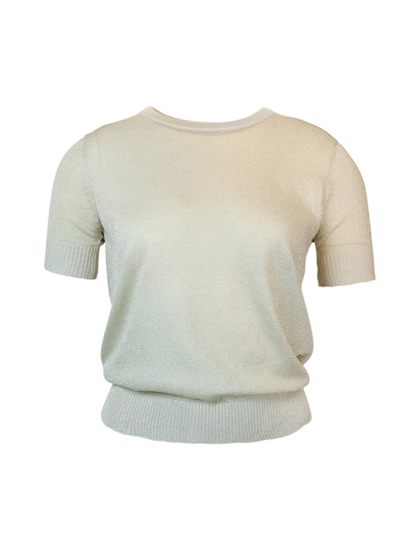 By Sara Collection Joyce Top Gold