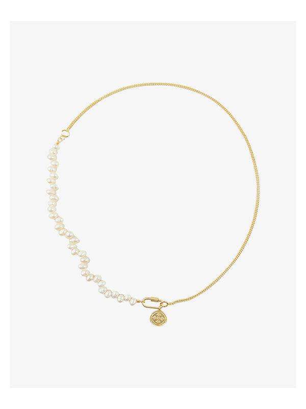 I Am Jai Necklace Pearl Half Chain