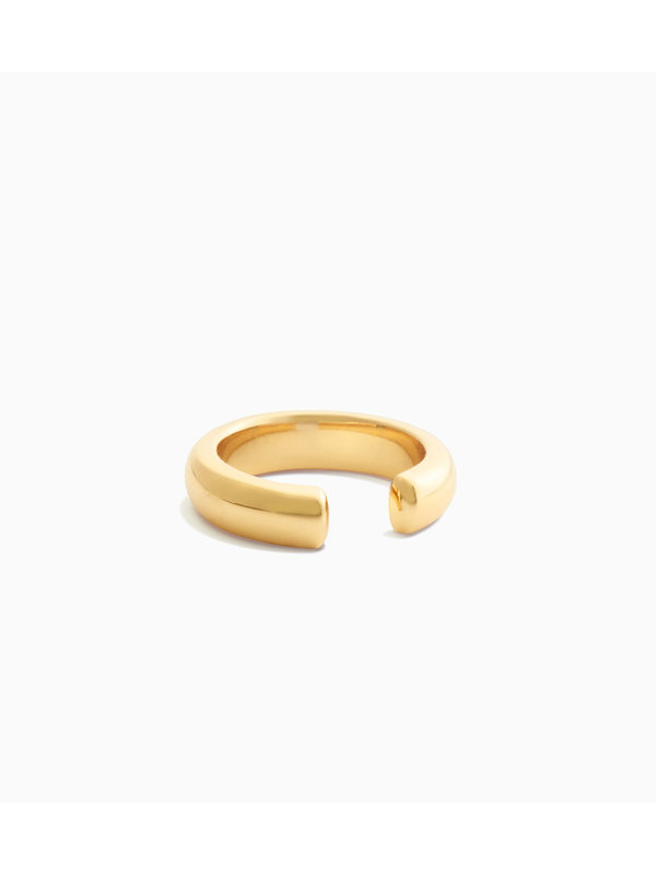 Eline Rosina Dome Ear Cuff Gold Plated