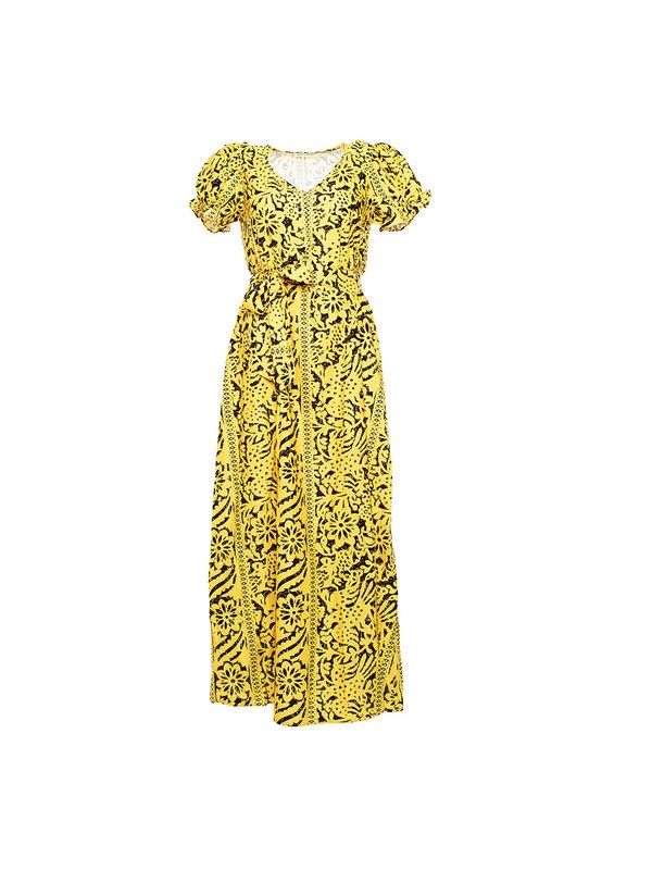 By Sara Collection Zoë Yellow Dress