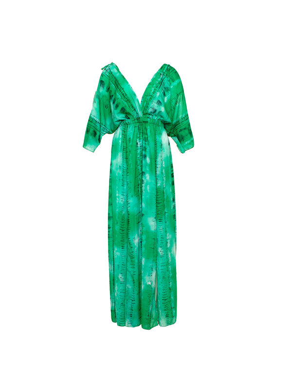 By Sara Collection Bobby Dress Groen