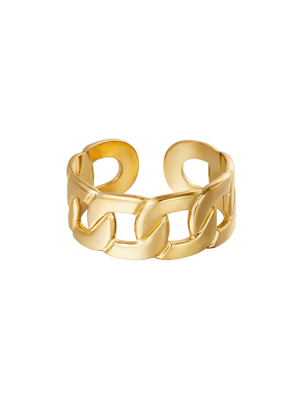 By Sara Collection Ring Lux Goud