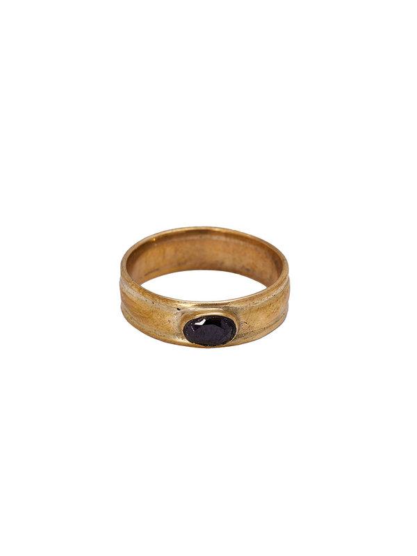 Xzota Ring Ray Brass