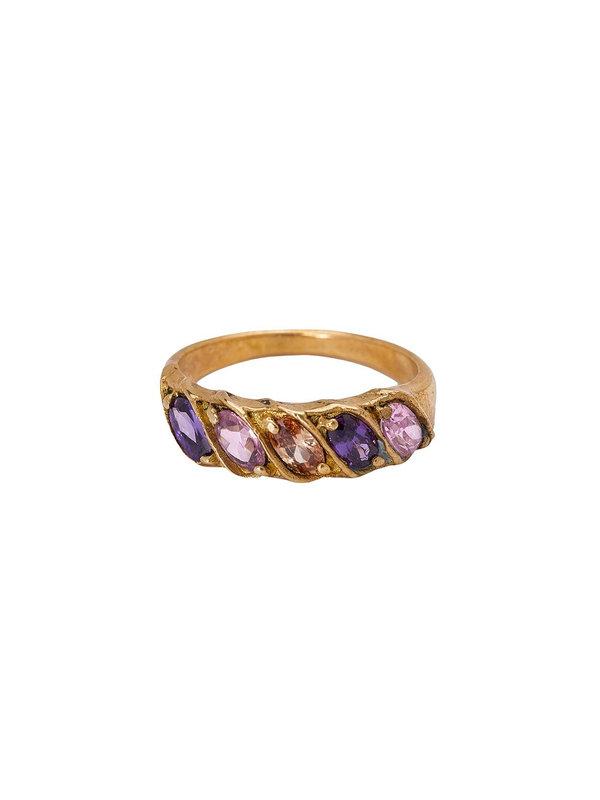 Xzota Ring Rainbow Brass