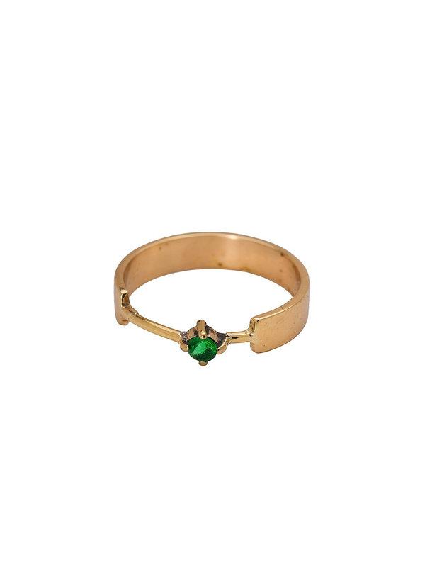 Xzota Ring Turtle Brass