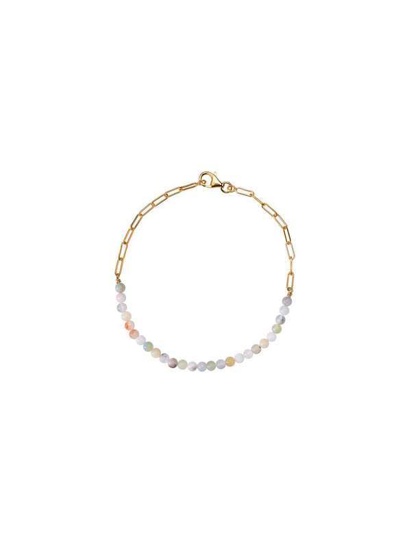 Xzota Anklet Ocean Gold Plated