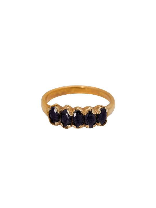 Xzota Ring Ocean Brass