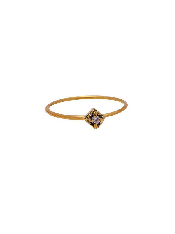 Xzota Ring Dreamer Brass
